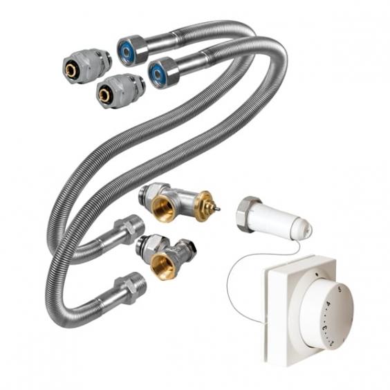 JAGA Mini canal - подключение на гибких шлангах с выносным термостатом