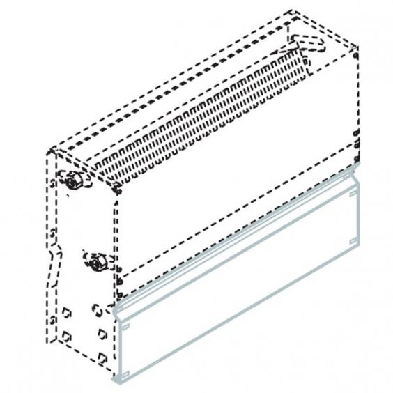 Закрывающая панель для моделей BRIW – BRBW