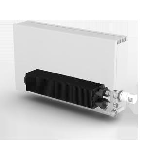 теплообменник JAGA Low-h2o в кожухе конвектора STRADA